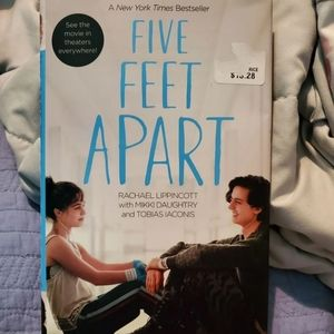 Five Feet Apart Hardback Book